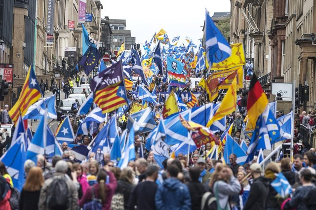 Supporters of Scottish independence should vote for the SNP, says Helen Martin (Picture: John Devlin)
