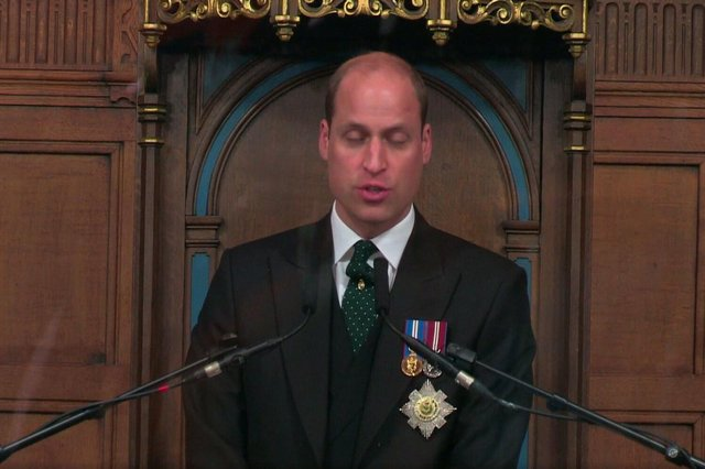 Prince William is attending the General Assembly as the Queen's representative
