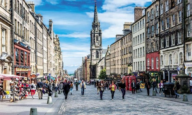 The consultation into the City Mobility Plan, which could see more streets pedestrianised like the Royal Mile, is ongoing.