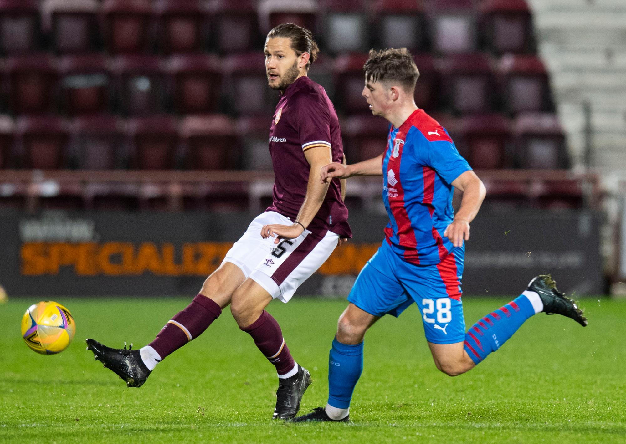 Why Hearts boss Robbie Neilson has been so pleased with Peter Haring influence