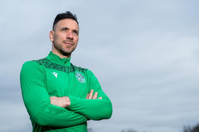 Ofir Marciano has not yet returned from international duty, leaving Hibs manager Jack Ross with a selection conundrum ahead of Monday's Scottish Cup tie. Photo by Ross Parker / SNS Group