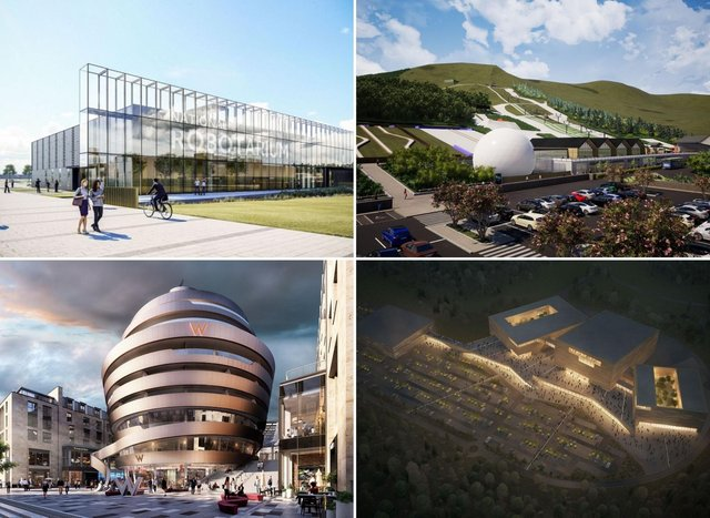 A few of the developments that will ring the changes for Edinburgh over the next five years.