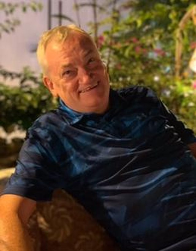 Keith Jenkinson, 64, suffered a stroke in 2016 shortly after retiring.