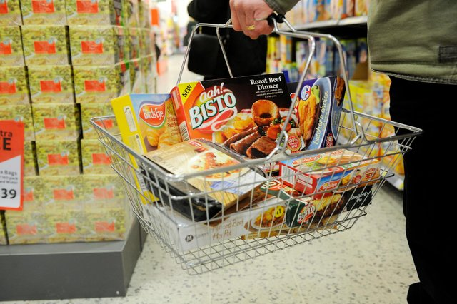'With Britons largely confined to their homes and all but essential shops closed, overall consumer prices held remarkably steady' Picture: Greg Macvean