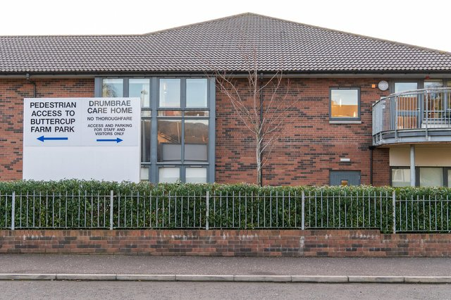 Drumbrae care home opened in 2013 on the site of the former Drumbrae Primary School    Picture: Ian Georgeson