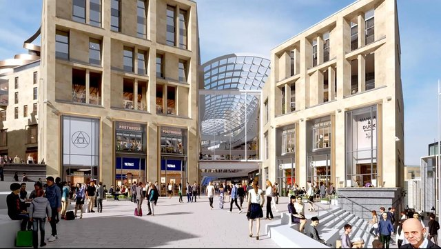 St James Quarter will begin its first phase of opening on Thursday