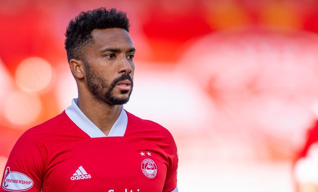 Aberdeen's Shay Logan is wanted by Hearts.