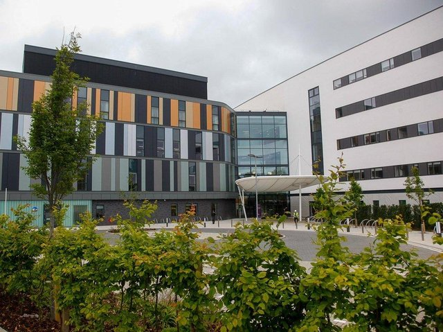 The new Sick Kids hospital at Little France had running costs of over £7m in 2020/21