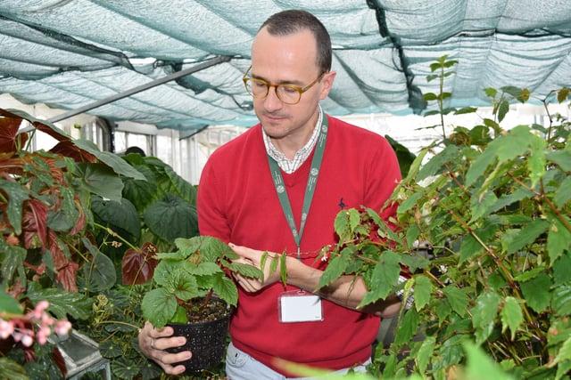 RBGE expert Dr Mark Hughes