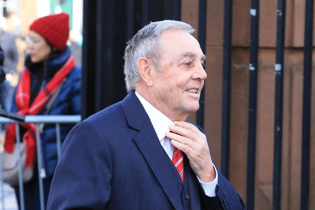 Scotland great Ian St John pictured in 2018.