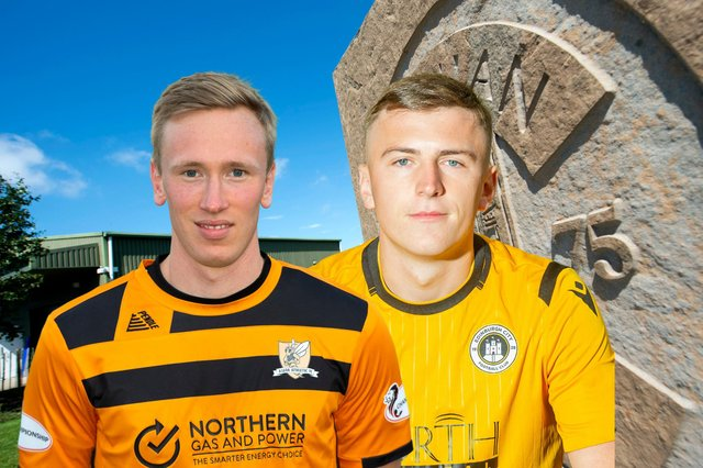 Innes Murray and Josh Campbell were both on target for their loan teams Alloa and Edinburgh City at the weekend