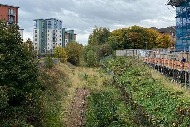 The former railway line could become a pedestrian and cycle path
