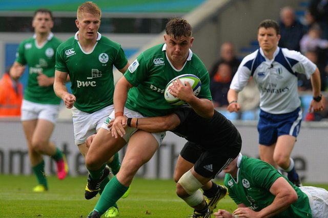 Adam McBurney is a former Ireland U20 international but is Scottish qualified. Picture: Tony Marshall/Getty Images