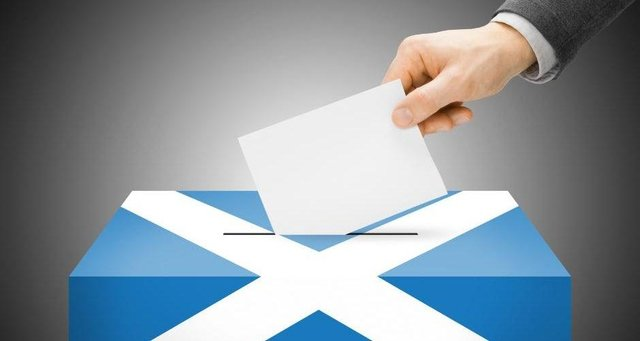 The elections will take place in Scotland on 6 May.