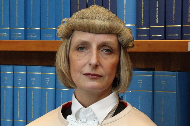 Lady Carmichael said Sweeney's victims suffered 'enduring harm'