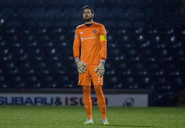 Craig Gordon is the most obvious candidate to become the next Hearts captain. (Photo by Ross Parker / SNS Group)