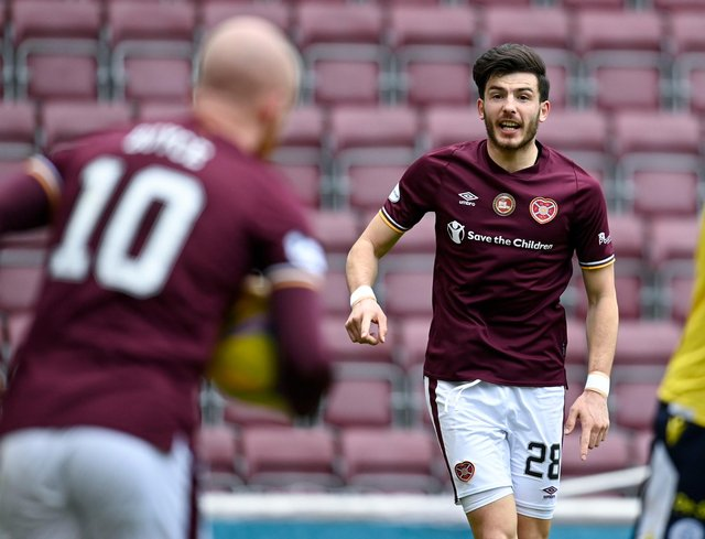 Live coverage of the Championship clash between Hearts and Queen of the South. Picture: SNS
